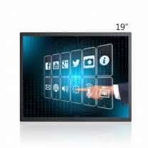 19 inch 10 Point Full Optical Bonding Capacitive Touch Screen Suppliers