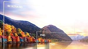 How to Distinguish HD, FHD, UHD?