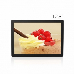 12 inch industrial touch screen display 1920*720 650nit for industrial