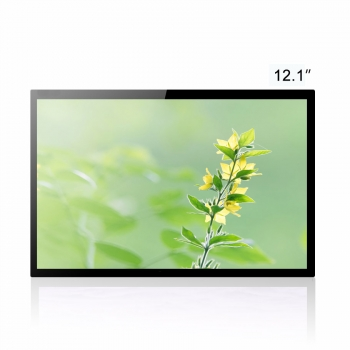 12 inch Full Optical Bonding 10 Points 500nits Touch Screen Panel For Industrial