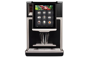capacitive screen self service coffee machines