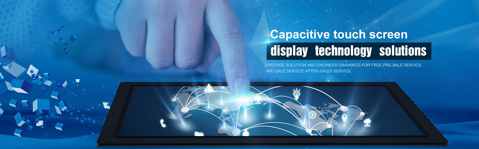 Projected Capacitive Touch Screen Manufacturers Technology