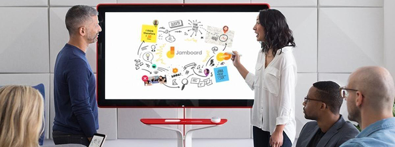 4Ktouch screen monitor for classroom