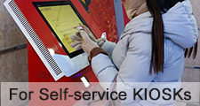 Project of PCAP Touch Screen for Self-service KIOSKs