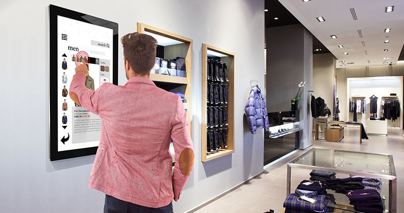 retail PCAP touch screen