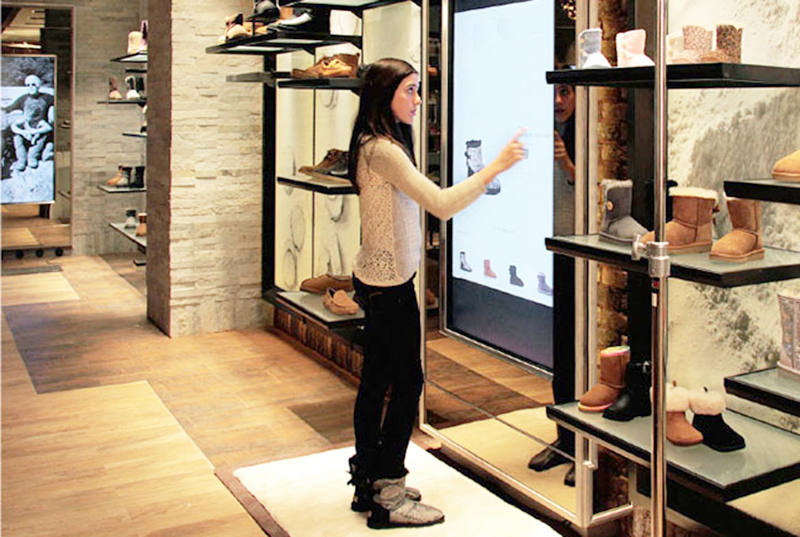 PCAP touch screen for retail - JFCVISION