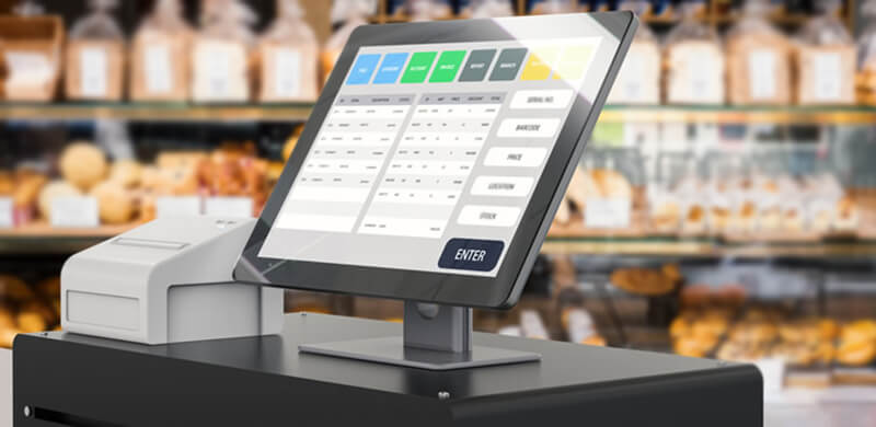 TFT touch screen for POS machine