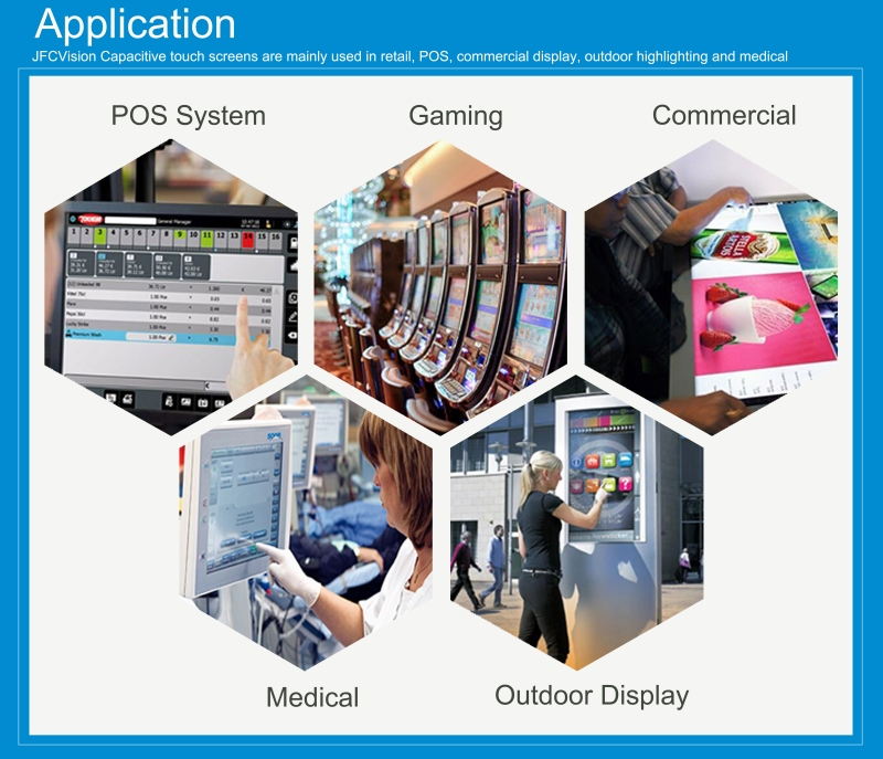 capacitive touch panel application