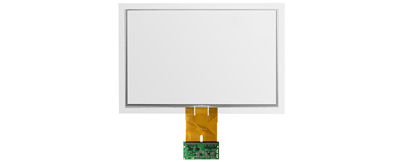 FOG - capacitive touch screen sensor and PFC