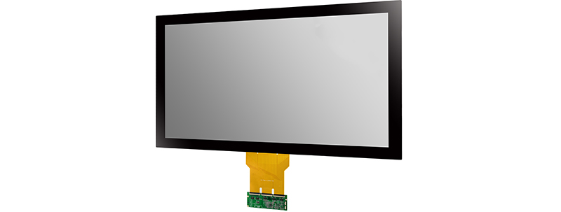 Multi-point capacitive touch screen