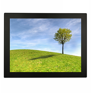 Capacitive touch screen for outdoor touch screen kiosk