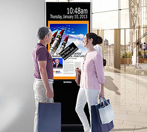 High quality outdoor touch kiosk