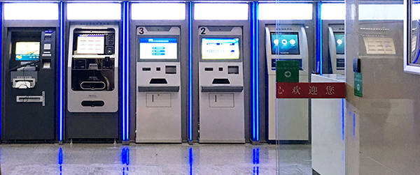 LCD Touch Screen Self-Service Kiosks