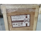 Fragile Warning Label - 27 inch Air Bonding 3M Touch Screen