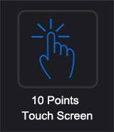 10 Points Multi Touch Monitor