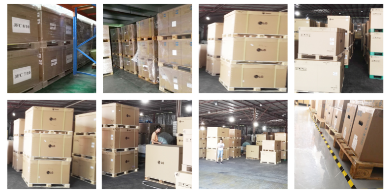 Warehouse of  Innolux LCD Panel