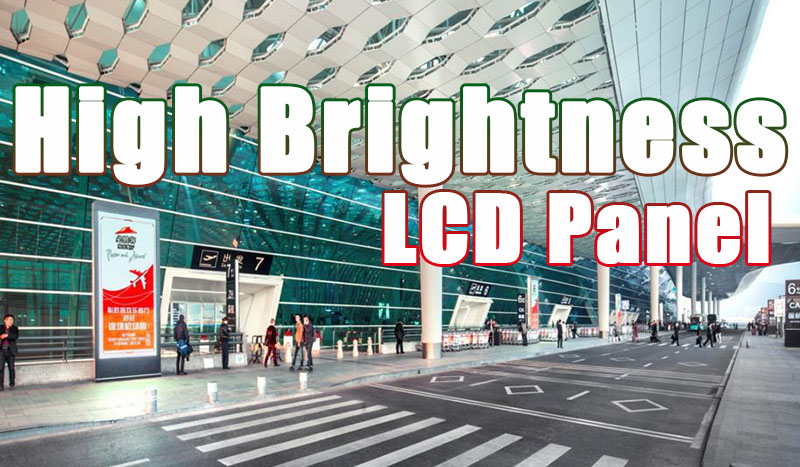 High Brightness Outdoor LCD Panel