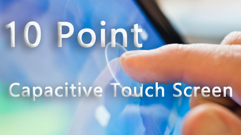 JFCVision 10 Point Capacitive Touch Screen