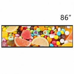 LG 86 inch 700 nit 3840*600 LD860DBN-UJA2 - Stretched Bar Display