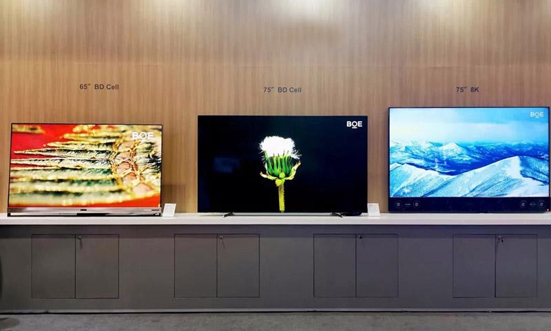 8K, 4K OLED display