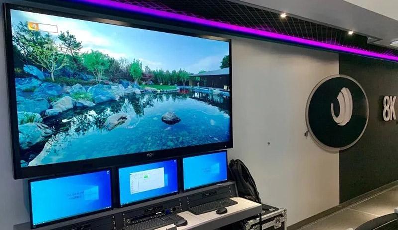 BOE 8K display, 4K display