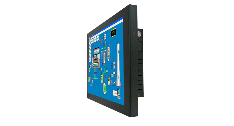 15.6 inch industrial capacitive touch screen monitor