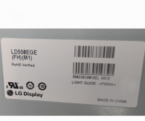 LG 55 inch LCD Panel FHD 700 nit 60Hz LD550EGE-FHM1