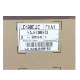 LG 49 inch 700 nit Full HD LCD Panel For Commercial Display - LD490EUE-FHA1